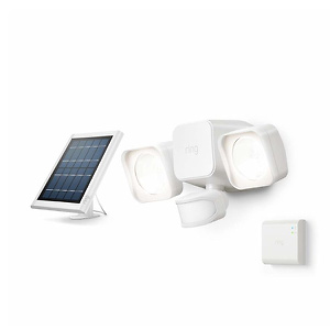 Introducing Ring Solar Floodlight, Outdoor Motion-Sensor Security Light