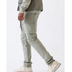 PacSun Utility Light Olive Nylon Slim Cargo Pants