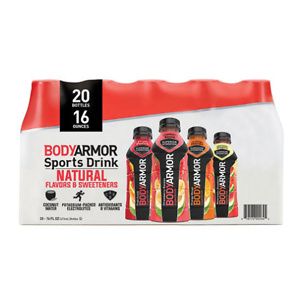 Sams Club: BODYARMOR Sports Drink Variety Pack (16oz / 20pk)
