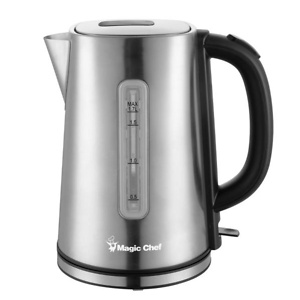Home Depot: Magic Chef 7-Cup Stainless Steel Electric Kettle for $19.99