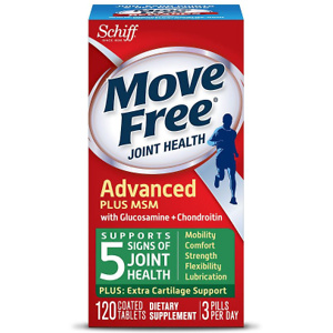 Walgreens: Buy 1 Get 1 Free + Extra 15% OFF on Schiff Move Free