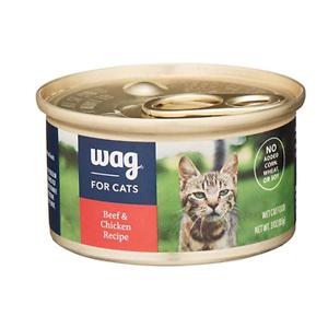 Amazon Brand - Wag Wet Cat Food 3 oz