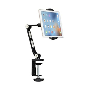 Suptek Aluminum Tablet Desk Mount Stand