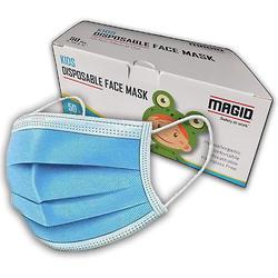 MAGID 3层保护一次性儿童口罩 50个装