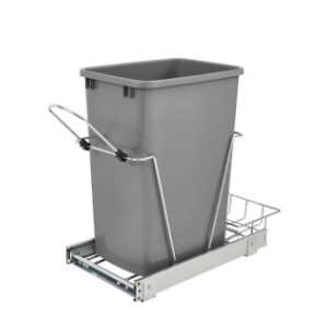 Home Depot: Rev-A-Shelf Pull-Out Silver and Chrome Waste Container for $54.44