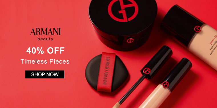 Giorgio Armani Beauty: 40% OFF Timeless Pieces