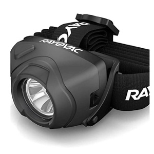 Rayovac Virtually Indestructible LED Headlamp Flashlight
