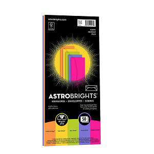 Astrobrights Color #10 Envelopes