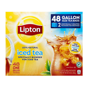 Sams Club: Lipton Iced Tea, Gallon Size Tea Bags (48 ct.)