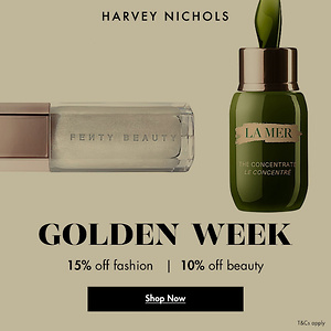 Harvey Nichols US: 15% OFF Full Price Fashion + 10% OFF Beauty