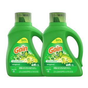 Gain 高效洗衣液 75oz 2瓶