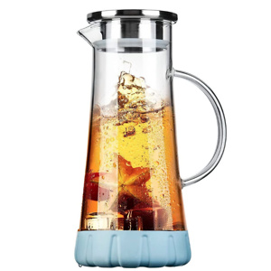 BOQO Glass Water Pitcher