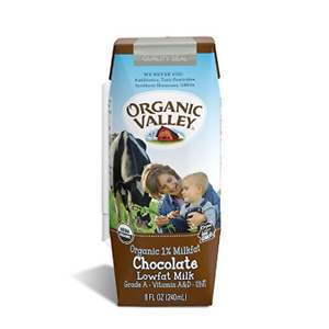 Organic Valley, Chocolate Milk Boxes