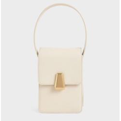 Elongated Front Flap Bag