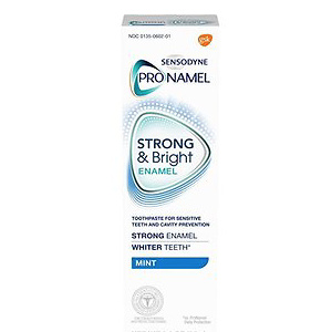 Sensodyne Pronamel Strong and Bright Enamel Toothpaste