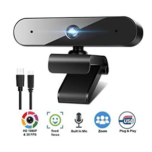 1080P Webcam for PC Laptop Desktop