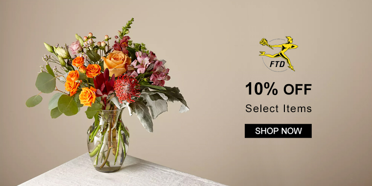 FTD: 10% OFF Select Items