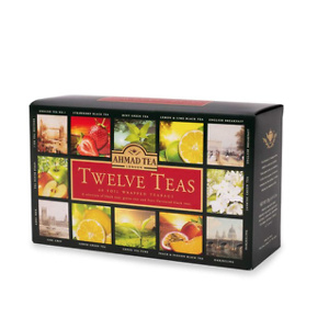 Ahmad Tea Twelve Teas Variety Gift Box