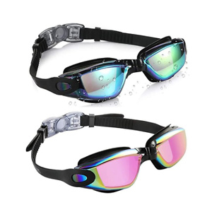 Aegend Swim Goggles, Pack of 2 Swimming Goggles