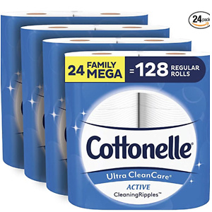 Cottonelle Ultra CleanCare Soft Toilet Paper