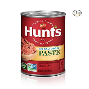 Hunt's Tomato Paste No Salt Added