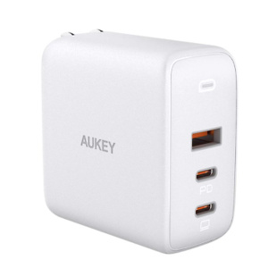 USB C Charger, AUKEY Omnia 90W 3-Port PD Charger
