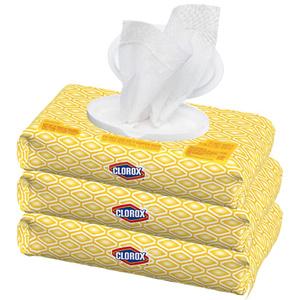 Clorox 便携消毒湿巾超值3包装 共225片