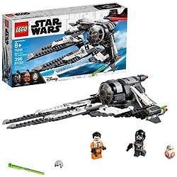 LEGO乐高 Star Wars星球大战系列75242黑色王牌钛拦截机