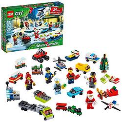 LEGO乐高 城市组圣诞倒数日历