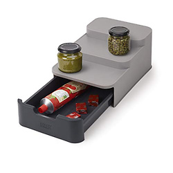 Joseph Joseph CupboardStore Compact 3 Tier Shelf Organizer