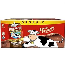 Horizon Organic 盒装 低脂 有机奶