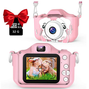 AOGELI Kids Camera for Girls Boys