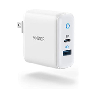 Anker USB C Charger, 30W 2 Port Fast Charger