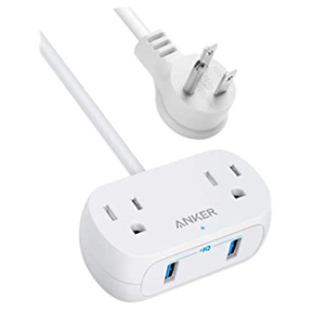 Anker Power Strip with USB PowerExtend USB 2 mini
