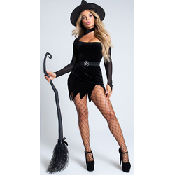YANDY BLACK HEARTED WITCH COSTUME