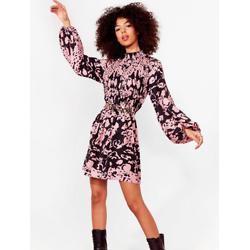 Ever Fallen in Love Floral Mini Dress