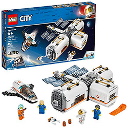 LEGO City Space Lunar Space Station 60227 Space Station Building Set