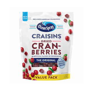Ocean Spray Craisins Dried Cranberries, Original, 24 Oz