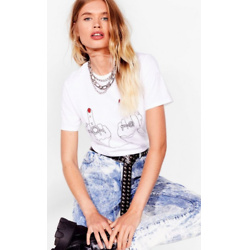 Flip 'Em Off Relaxed Graphic Tee