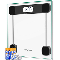 Beautural Precision Digital Body Weight Bathroom Scale