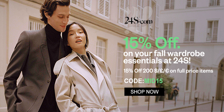 24S: 15% OFF Sitewide