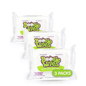 Boogie Wipes, Unscented Wet Wipes