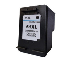 Compatible Black HP 61XL High Yield Ink Cartridge (Replaces HP CH563WN)| RI-CH563WN