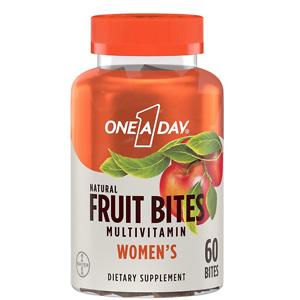 One A Day Women's Natural Fruit Bites Multivitamin