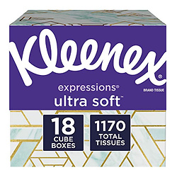 Kleenex 超柔软方盒面巾纸