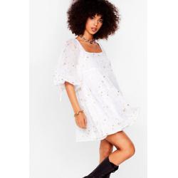 Star Light Tiered Mini Dress