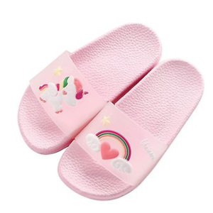 Boys Girls Unicorn Slide Sandals