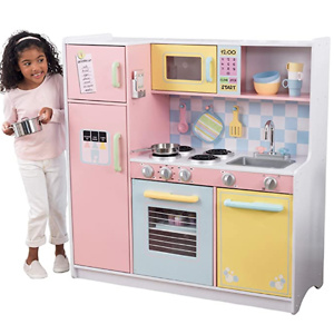 KidKraft Large Kitchen,Pastel