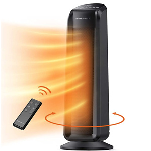 TaoTronics Space Heater, 1500W Fast Quiet Heating Ceramic Tower