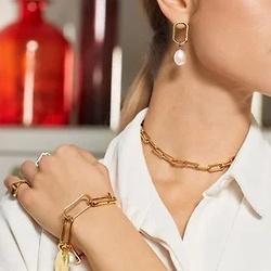 Monica Vinader Alta pearl earrings